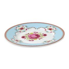 Discover the Pip Studio Set of 4 Plates in gift box - Blue - 17cm at Amara