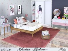 SimControl: Bedroom fashion by Pilar • Sims 4 Downloads