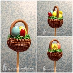 Easter cake pop by kCreative