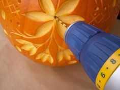 Blog - Creative pumpkin carving from Design Sponge! | Element US