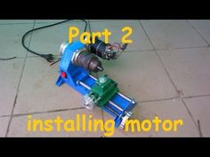 "Metal working: Making ""Dremelathe"" small rotary tool powered lathe Part 1. (Workstation part 2) - YouTube"