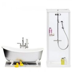 Lundby Smaland Shower & Bath Set