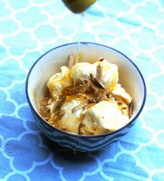 Easy Honey Almond Ice Cream Desserts Recipe - BonBon Rose Girls