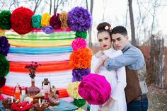 Viva La Vida: Mexican Inspired Wedding Photo-Shoot - Belle the Magazine . The Wedding Blog For The Sophisticated Bride