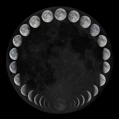 Phases of the moon #Science-Nature