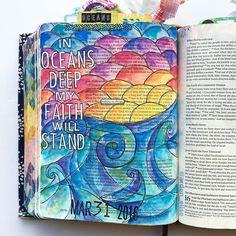 Bible Journaling by Arden Ratcliff-Mann @arden_elise