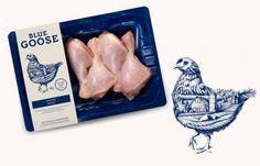 дизайн упаковки для Blue Goose