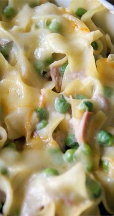 Quick and Easy Tuna Casserole ~ Awesome, you'll never buy tuna helper again!