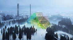 "Biomass cogeneration doesn't scream ""family fun for all ages"" to most of us, but the city of Uppsala, Sweden, is hoping it might some day. Its plan involves a geodesic dome, stained glass, and a zany Danish architect."