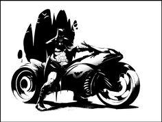 Court of Owls: Batman Batcycle Greg Capullo