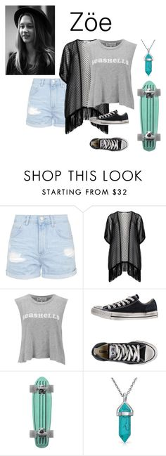 """""""Sem título #99"""" by vic-valdez on Polyvore featuring beleza, Topshop, Maxima, Wildfox, Converse e Bling Jewelry"""
