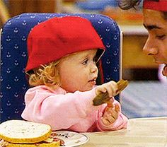 Give us credit, we show it sometimes. | Community Post: 30 GIFs Of Michelle Tanner That Are Your Life