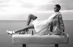 Gimnastas de Chanel, la moda está a la espera de los JJOO de Londres