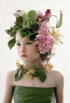 ❀ Flower Maiden Fantasy ❀ beautiful art fashion photography of women and flowers - flower fae