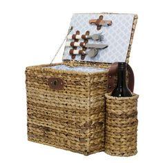 wicker basket for 2