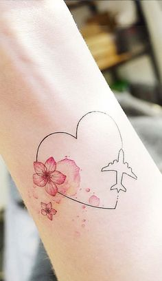 just the flowers, for hawaii tattoo sisters ? Mini Tattoos, Wrist Tattoos, Body Art Tattoos, New Tattoos, Small Tattoos, Sleeve Tattoos, Hawaii Tattoos, Delicate Tattoo, Tattoos For Daughters