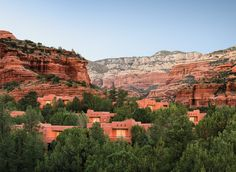 Enchantment Resort Sedona, Arizona valley sky canyon tree mountain Nature rock landscape badlands park national park