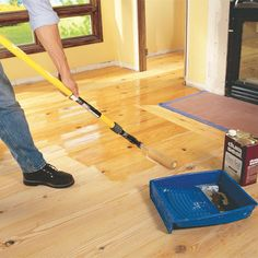 How to install pine floor