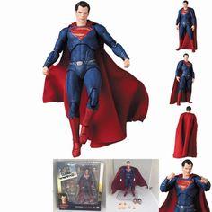 Superman Super Man Justice League Mafex No 057 Figuren Figur PVC Anime Manga