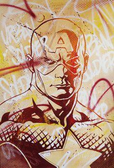 Captain America - Anthony Noble