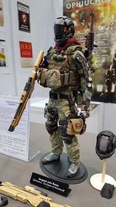 Jackal X first figure series is based on the combination of science fiction and military genre. They existed in the world of post-alien inva...