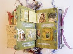 Keepsake Book Altered Book Journal with by RobinsArtAndDesign