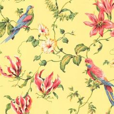 Casabella Tropical Floral Wallpaper | Wallpaper Warehouse