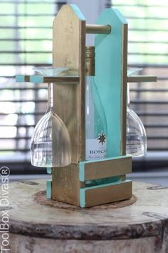 DIY Wine Caddy with