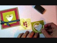 ▶ Stampin' Up! Shaker Frames Card Tutorial - YouTube
