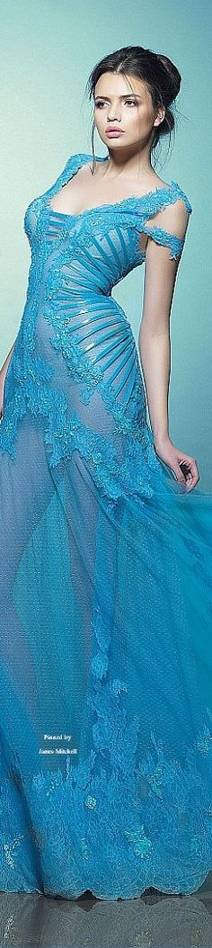 Saiid Kobeisy Spring-summer 2015 - More added daily @ https://www.pinterest.com/tanja62287/couture-dresses/