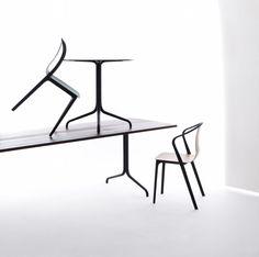 Belleville Collection, Vitra. Ronan & Erwan Bouroullec. Necessary #329.