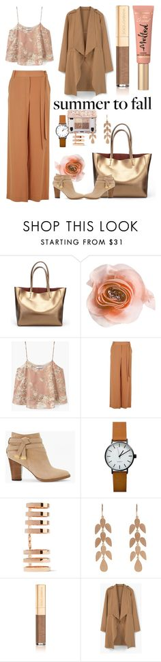 """lucky romance"" by greskelly ❤ liked on Polyvore featuring Cynthia Rowley, MANGO, TIBI, White House Black Market, Repossi, Irene Neuwirth, Dolce&Gabbana and Too Faced Cosmetics"