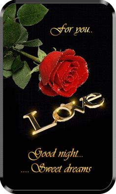 Good Night and sweet dreams I love you Good Night Flowers, Lovely Good Night, Romantic Good Night, Good Night Sweet Dreams, Good Night Image, Good Morning Good Night, Funny Good Night Quotes, Good Night Love Messages, Good Night Greetings