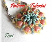 Pattern of pendant Firene - PDF instructions, step by step