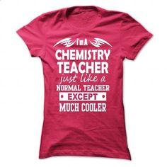 chemistry teacher #Tshirt #style. BUY NOW => https://www.sunfrog.com/Geek-Tech/chemistry-teacher-HotPink-43179133-Ladies.html?60505