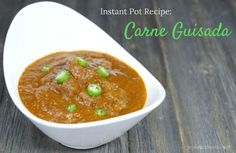 Carne guisada is an absolutely delicious traditional Mexican beef stew - sub xantham gum or glucomannan for potato starch to make this THM-friendly.