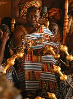 King of all the Ashanti kingdoms . Ghana