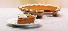 Pumpkin Pie- The holidays wouldn t be complete without this classic. The rich filling warms your taste buds with vibrant hints of nutmeg, ginger, and clove. It s so delicious, you might consider baking pumpkin pie all year round.