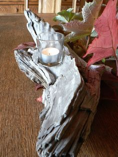 Pièce maîtresse de vacances décor bois par FlotsamJetsamCrafts, $35.00