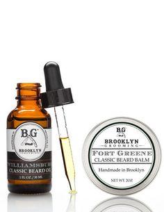 Beard Balm + Beard Oil Duo