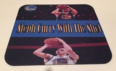 Stephen Curry Golden State Warriors NBA Anti Slip Gamer Mouse Pad Phat Graphix | eBay