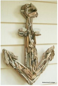 Anchors Away  Nautical home decor is always a great look for the spring and summer. If you need a unique piece of wall decor for your beach home, this anchor is perfect.
