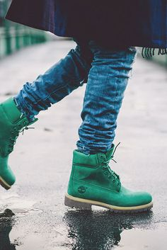 "Villa × TIMBERLAND 6"" Boot in Emerald"