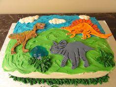 Sugar Shack: Dinosaur cake