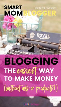 What's the EASIEST way to make money with a new blog? You might be surprised! https://smartmomblogger.com/affiliate-marketing/ (hint: it's not ads, products, OR sponsored posts)