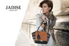 Un #look total white per affrontare l'inverno con glamour. Unica nota di colore la #borsa Lima: arancio vitamico e ricercati dettagli etno-chic #jadise #fallwinter20142015 #madeinitaly #borse #bags #cool #fashion #moda #colori #outfit #urbanstyle #chicbags #lima