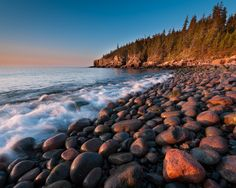 Monument Cove Light by Michael Blanchette Beautiful Sites, Beautiful Places, Places To Travel, Places To Go, Mount Desert Island, Cove Lighting, Travel Photos, Cool Pictures, Sunrise