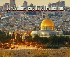 Please Share: #jerusalem_is_the_capital_of_Palestine Champs, What Is Happiness, Holy Land, First Nations, Palestine, Capital City, Jerusalem, Rue, Happy Quotes