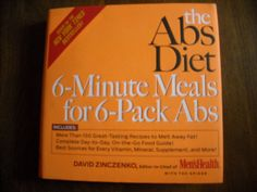 The Abs Diet 6 Minute Meals for 6 Pack Abs by David Zinczenko (2006) ~~ for sale at Wenzel Thrifty Nickel eCRATER store