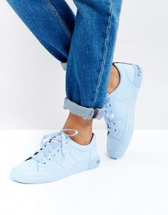 13b859c03789 Tommy Hilfiger Canvas Sneaker with Ribbon Lace Detail Lace Sneakers